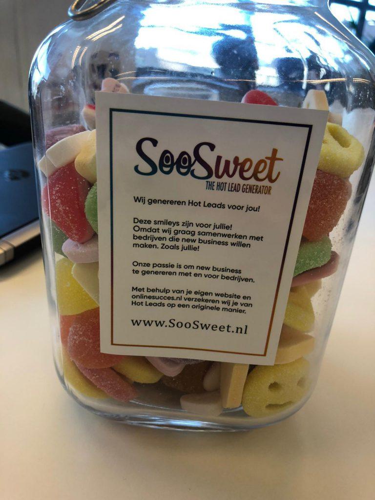 SooSweet Online Succes snoeppot