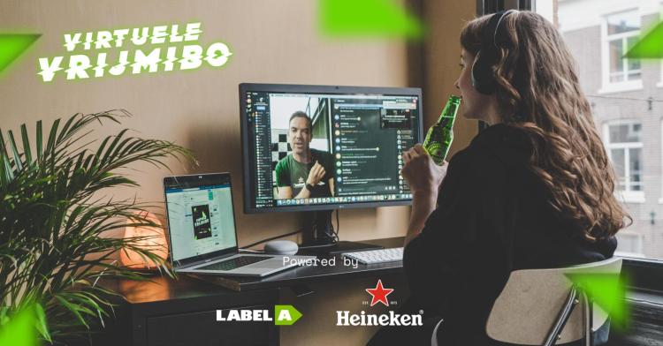 Virtuele VrijMibo Label-A Heineken