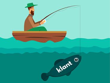 Account Based Marketing vissen speer of hengel