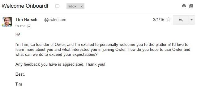 dating site eerste e-mail voorbeelden