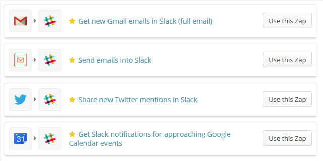 slack-zapier-integratie