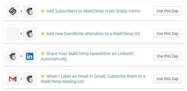 zapier-mailchimp